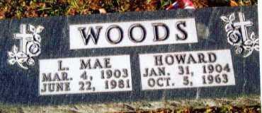 WOODS, L. MAE - Allen County, Ohio | L. MAE WOODS - Ohio Gravestone Photos