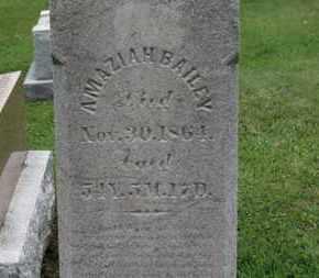 BAILEY, AMAZIA - Ashland County, Ohio   AMAZIA BAILEY - Ohio Gravestone Photos