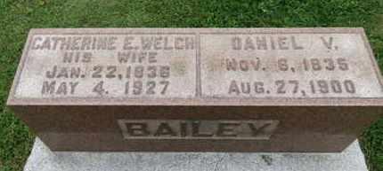 BAILEY, CATHERINE E. - Ashland County, Ohio | CATHERINE E. BAILEY - Ohio Gravestone Photos