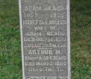 MILLER BEARD, ROSETTA E. - Ashland County, Ohio | ROSETTA E. MILLER BEARD - Ohio Gravestone Photos