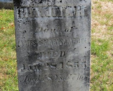CAMPBELL, HANNAH - Ashland County, Ohio | HANNAH CAMPBELL - Ohio Gravestone Photos