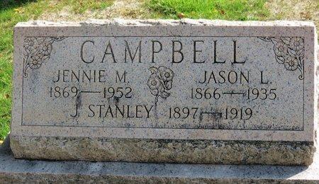 CAMPBELL, J. STANLEY - Ashland County, Ohio | J. STANLEY CAMPBELL - Ohio Gravestone Photos