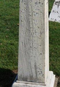 CAMPBELL, ELIZABETH - Ashland County, Ohio | ELIZABETH CAMPBELL - Ohio Gravestone Photos