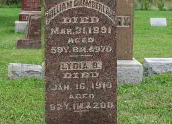 CHAMBERLAIN, WILLIAM - Ashland County, Ohio | WILLIAM CHAMBERLAIN - Ohio Gravestone Photos