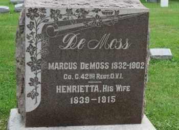 DEMOSS, MARCUS - Ashland County, Ohio   MARCUS DEMOSS - Ohio Gravestone Photos