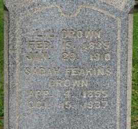 DROWN, L.L. - Ashland County, Ohio | L.L. DROWN - Ohio Gravestone Photos