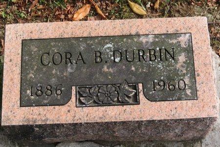 DURBIN, CORA B. - Ashland County, Ohio | CORA B. DURBIN - Ohio Gravestone Photos