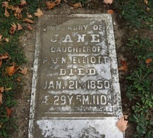 ELLIOT, JANE - Ashland County, Ohio | JANE ELLIOT - Ohio Gravestone Photos