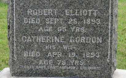 ELLIOT, ROBERT - Ashland County, Ohio | ROBERT ELLIOT - Ohio Gravestone Photos