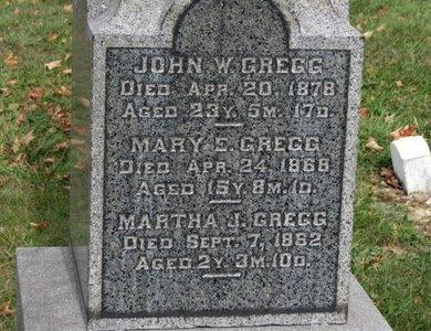 GREGG, JOHN W. - Ashland County, Ohio | JOHN W. GREGG - Ohio Gravestone Photos