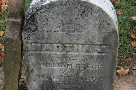 GREGG, MARTHA J. - Ashland County, Ohio | MARTHA J. GREGG - Ohio Gravestone Photos