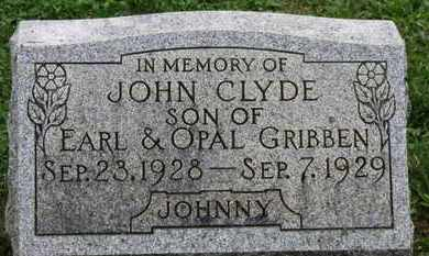 GRIBBEN, EARL - Ashland County, Ohio   EARL GRIBBEN - Ohio Gravestone Photos