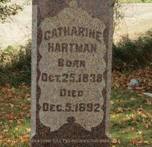 HARTMAN, CATHARINE - Ashland County, Ohio | CATHARINE HARTMAN - Ohio Gravestone Photos