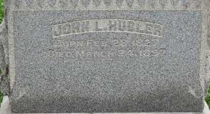 HUBLER, JOHN L. - Ashland County, Ohio   JOHN L. HUBLER - Ohio Gravestone Photos
