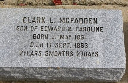 MCFADDEN, CLARK L. - Ashland County, Ohio   CLARK L. MCFADDEN - Ohio Gravestone Photos