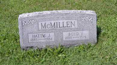MCMILLAN, BOYD V. - Ashland County, Ohio   BOYD V. MCMILLAN - Ohio Gravestone Photos