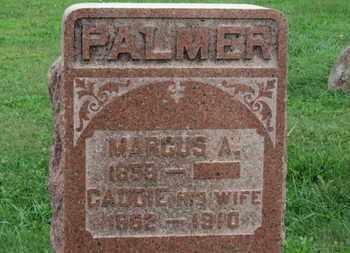 PALMER, MARCUS A. - Ashland County, Ohio | MARCUS A. PALMER - Ohio Gravestone Photos