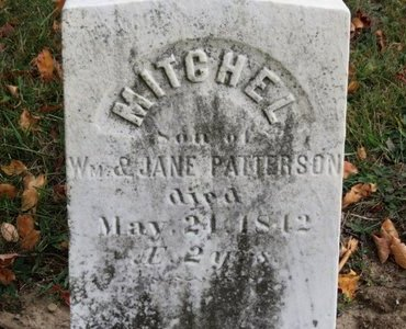 PATTERSON, MITCHEL - Ashland County, Ohio | MITCHEL PATTERSON - Ohio Gravestone Photos