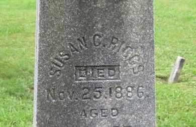 RIGGS, SUSAN C. - Ashland County, Ohio   SUSAN C. RIGGS - Ohio Gravestone Photos