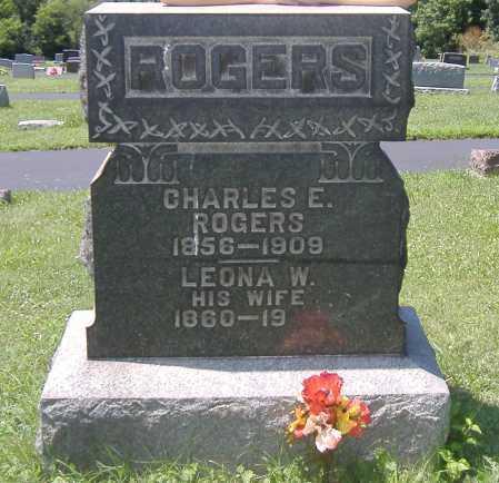 ROGERS, CHARLES EDWIN - Ashland County, Ohio   CHARLES EDWIN ROGERS - Ohio Gravestone Photos