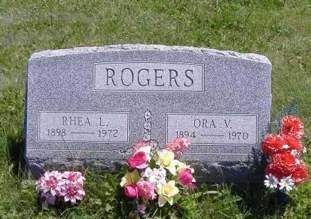 ROGERS, RHEA L. - Ashland County, Ohio   RHEA L. ROGERS - Ohio Gravestone Photos