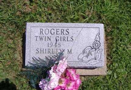 ROGERS, TWIN GIRLS - Ashland County, Ohio   TWIN GIRLS ROGERS - Ohio Gravestone Photos
