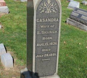 SHARICK, CASANDRA - Ashland County, Ohio   CASANDRA SHARICK - Ohio Gravestone Photos
