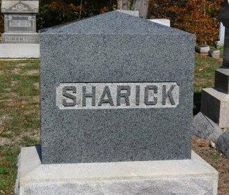SHARICK, FAMILY MARKER - Ashland County, Ohio | FAMILY MARKER SHARICK - Ohio Gravestone Photos