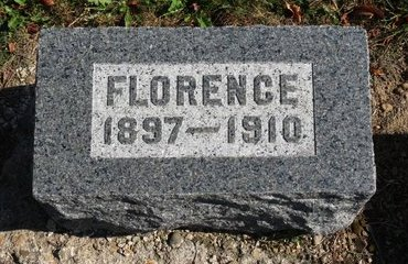 SHARICK, FLORENCE - Ashland County, Ohio   FLORENCE SHARICK - Ohio Gravestone Photos