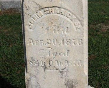 SHARICK, JOHN SR. - Ashland County, Ohio | JOHN SR. SHARICK - Ohio Gravestone Photos