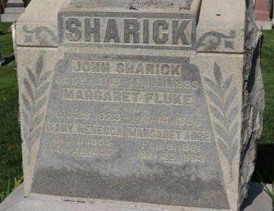 SHARICK, MARY REBECCA - Ashland County, Ohio | MARY REBECCA SHARICK - Ohio Gravestone Photos
