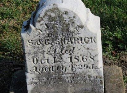 SHARICK, S. - Ashland County, Ohio | S. SHARICK - Ohio Gravestone Photos