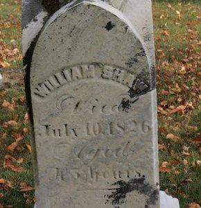 SHAW, WILLIAM - Ashland County, Ohio | WILLIAM SHAW - Ohio Gravestone Photos
