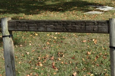 SIGN, CEMETERY - Ashland County, Ohio | CEMETERY SIGN - Ohio Gravestone Photos