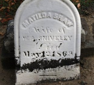 SNIVELEY, MATILDA - Ashland County, Ohio | MATILDA SNIVELEY - Ohio Gravestone Photos