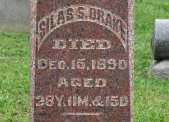 SRAKE, SILAS S. - Ashland County, Ohio | SILAS S. SRAKE - Ohio Gravestone Photos