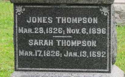 THOMPSON, SARAH - Ashland County, Ohio   SARAH THOMPSON - Ohio Gravestone Photos