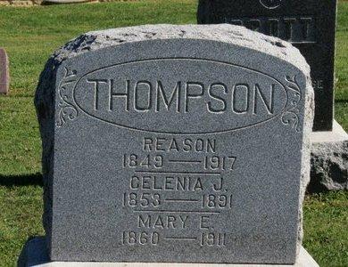 THOMPSON, REASON - Ashland County, Ohio   REASON THOMPSON - Ohio Gravestone Photos