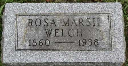 WELCH, ROSA - Ashland County, Ohio   ROSA WELCH - Ohio Gravestone Photos