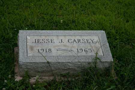 CARSEY, JESSE J - Athens County, Ohio | JESSE J CARSEY - Ohio Gravestone Photos
