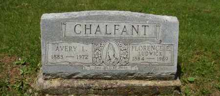 LUDWICK CHALFANT, FLORENCE E - Athens County, Ohio | FLORENCE E LUDWICK CHALFANT - Ohio Gravestone Photos