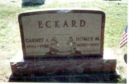 ECKARD, HOMER - Athens County, Ohio | HOMER ECKARD - Ohio Gravestone Photos