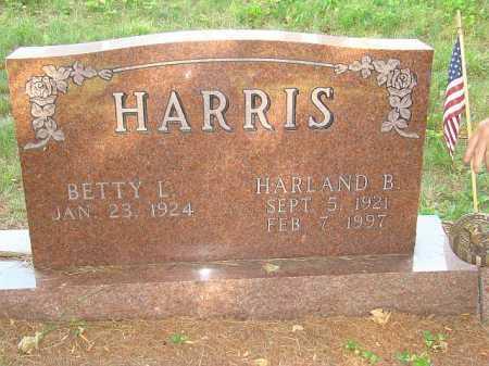 ECKARD HARRIS, BETTY - Athens County, Ohio | BETTY ECKARD HARRIS - Ohio Gravestone Photos