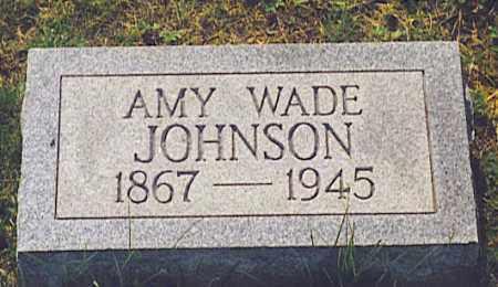 WADE JOHNSON, AMY - Athens County, Ohio | AMY WADE JOHNSON - Ohio Gravestone Photos
