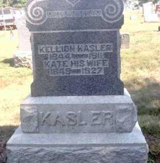 KASLER, KELLION - Athens County, Ohio | KELLION KASLER - Ohio Gravestone Photos