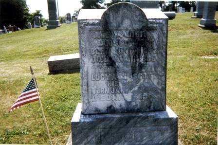 LINSCOTT, ALEXANDER - Athens County, Ohio | ALEXANDER LINSCOTT - Ohio Gravestone Photos