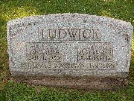 LUDWICK, ARRETTA - Athens County, Ohio   ARRETTA LUDWICK - Ohio Gravestone Photos