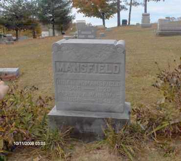 MANSFIELD, HIRAM - Athens County, Ohio   HIRAM MANSFIELD - Ohio Gravestone Photos