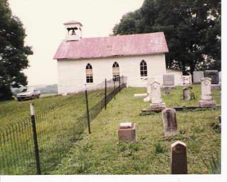 PRATT'S FORK, CHURCH & CEMETERY2 - Athens County, Ohio   CHURCH & CEMETERY2 PRATT'S FORK - Ohio Gravestone Photos