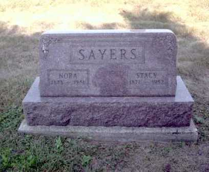 KASLER SAYERS, NORA - Athens County, Ohio | NORA KASLER SAYERS - Ohio Gravestone Photos